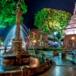 Night view of Christ Church and Dutch Square in Malacca, Malaysia — Stock Photo #14010292