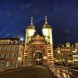The Heidelberg Old Bridge (Alte Brucke) - Stock Photo