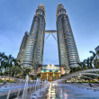 Petronas Towers, tallest buildings in Malaysia — Stock Photo #14010371