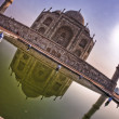 Stock Photo: Views of the Taj Mahal
