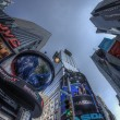 Famous Times Square, New York City, USA — Stock fotografie