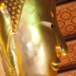 Reclining Buddha at Wat Pho — Stock Photo
