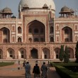 Delhi: Humayuns tomb - Stock Photo
