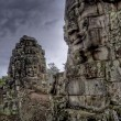 Stock Photo: Bayon temple, Cambodia