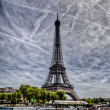 Eiffel tower from Seine — Foto Stock #14017660