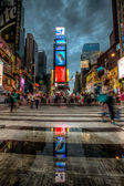 On Times Square — Stock Photo