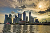 Central business districts, singapur — Stockfoto
