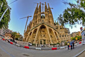 La Sagrada Familia in Barcelona — Stock Photo