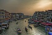 венеция в вечернее время — Стоковое фото