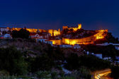 Obidos before sunrise — Stock Photo