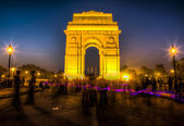 India Gate in Delhi — Stock Photo