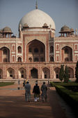 Delhi: Humayuns tomb — Stock Photo