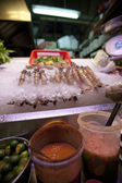 Singapore local hawker food — Stock Photo
