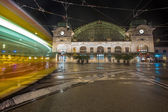 Basel SBB railway station — Stock Photo