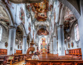 Inside of cathedral — Stock Photo