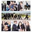 Stock Photo: Business People Collage