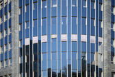 Large glass skyscraper — Stock Photo