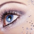 Stock Photo: Beautiful girl eye