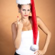 Christmas girl — Stock Photo #28476665