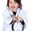 Little boy doctor — Foto de Stock