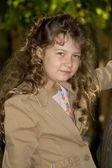Zakelijke meisje — Stockfoto