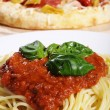 Pizzand pasta — Stock Photo #28494027