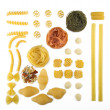 Different types of pasta — Stock Photo