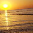 Sunset over the sea — Stock Photo #28495867