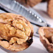 Walnut close-up — Stock Photo