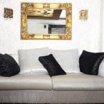 Sofa in the room — Stock Photo