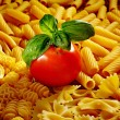 Tomato and pasta — Stock Photo