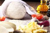 Ingredientes para pizza — Foto Stock