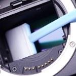 Camera CCD Sensor close-up — Stock Photo #28504547