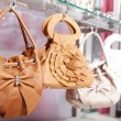 Handbags in the store — Stockfoto
