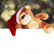 Stock Photo: Christmas bear
