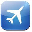 Stock Photo: Airplane Icon