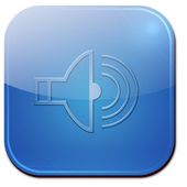 Speaker Icon — Foto de Stock