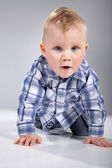 Little blonde baby — Stock Photo