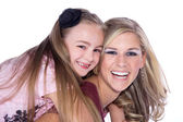 Mother and dauther — Stock Photo