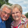 Stock Photo: Happy retired middle aged couple
