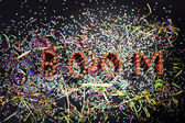 Writing boom — Stock Photo