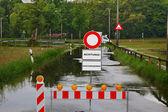Inondando il diluvio — Foto Stock