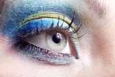 Oko piękna dziewczyna — Zdjęcie stockowe