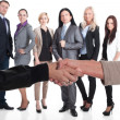 Strong business team — Stock Photo #44484817