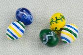 5 イースター卵、手作り描かれました。 — ストック写真