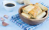 Baked rolls — Stok fotoğraf