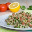 Tabouli - vegetarian Lebanese salad — Stock Photo