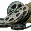 Stock Photo: Old film, cinema, 16mm, 35mm