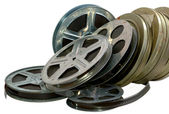 Old film, cinema, 16mm, 35mm — Stock Photo