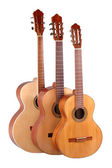 Spanish classical guitar — Stock Photo
